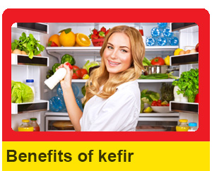 Benefits of milk kefir