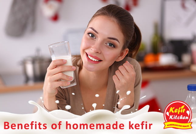 Benefits of Homemade Kefir
